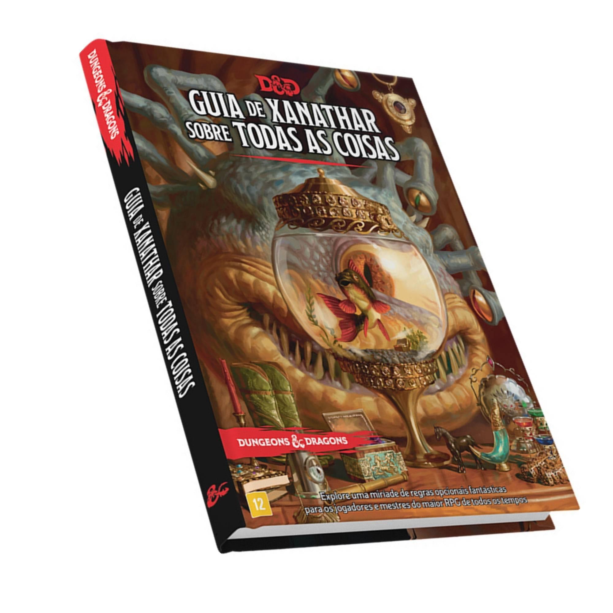 Dungeons and Dragons 5ª Edição: Guia de Xanathar para todas as coisas
