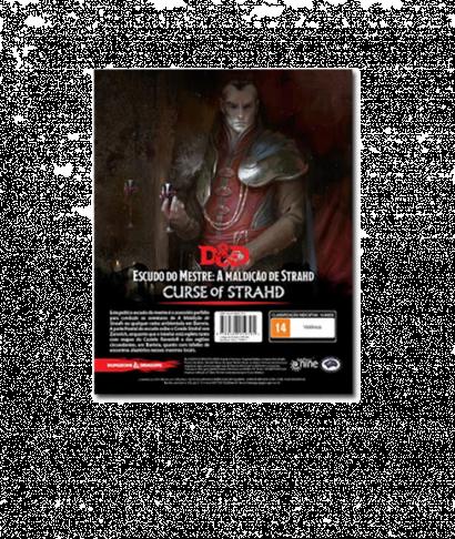 Dungeons & Dragons 5ª Edição - A Maldição de Strahd Escudo do Mestre