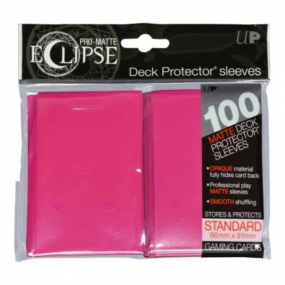 Eclipse Pro-Matte Pink - 100 unid - Ultra Pro