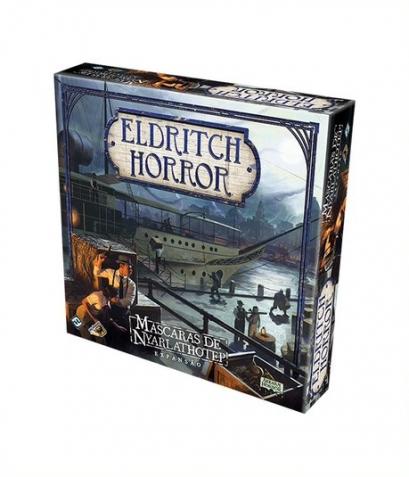 Eldritch Horror: Máscaras de Nyarlathotep - Expansão