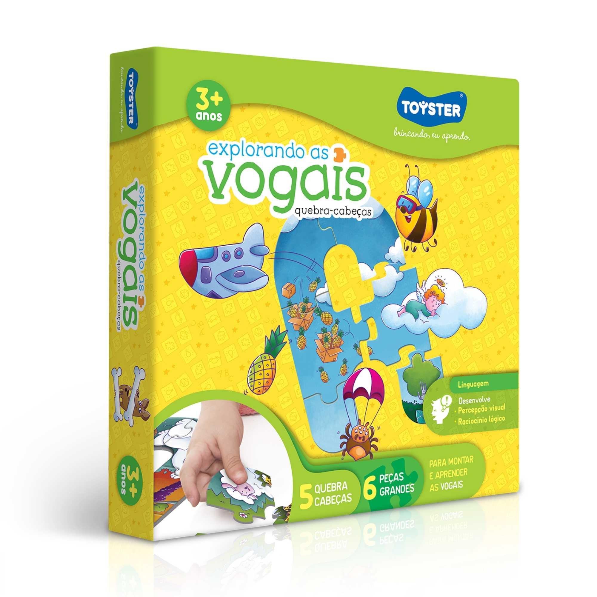 Explorando As Vogais - Toyster