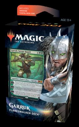 Garruk, Arauto Selvagem - Deck de Planeswalker - Magic 2021