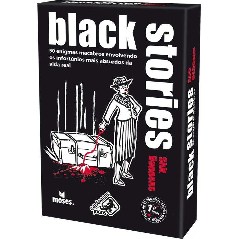 Histórias Sinistras: M**** acontecem (Black Stories: Shit Happens)
