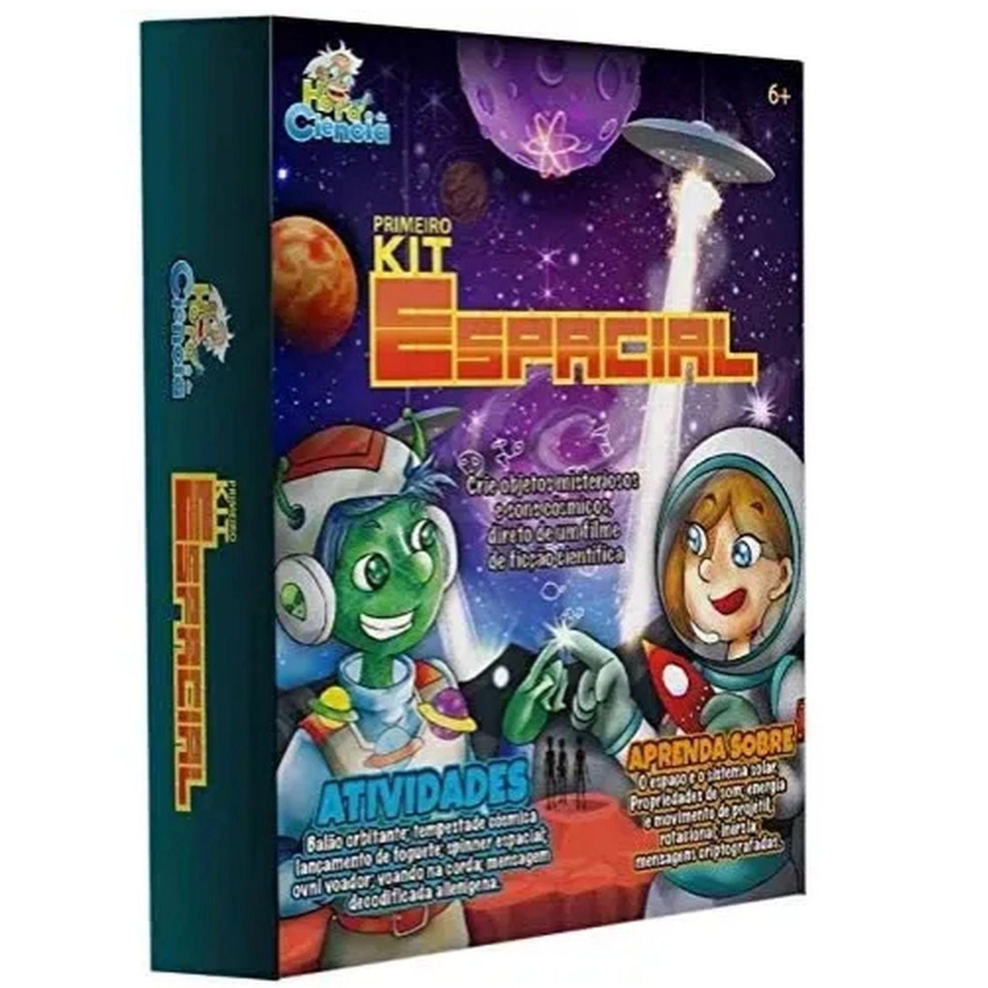 Hora Da Ciência - Kit Espacial com Experiências para Crianças