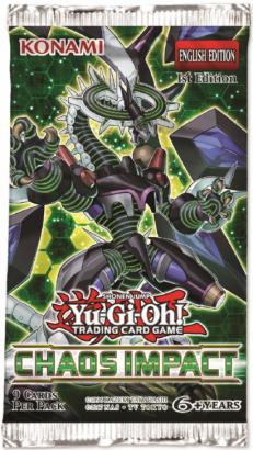 Impacto do Caos - Booster Avulso - Yu-Gi-Oh!
