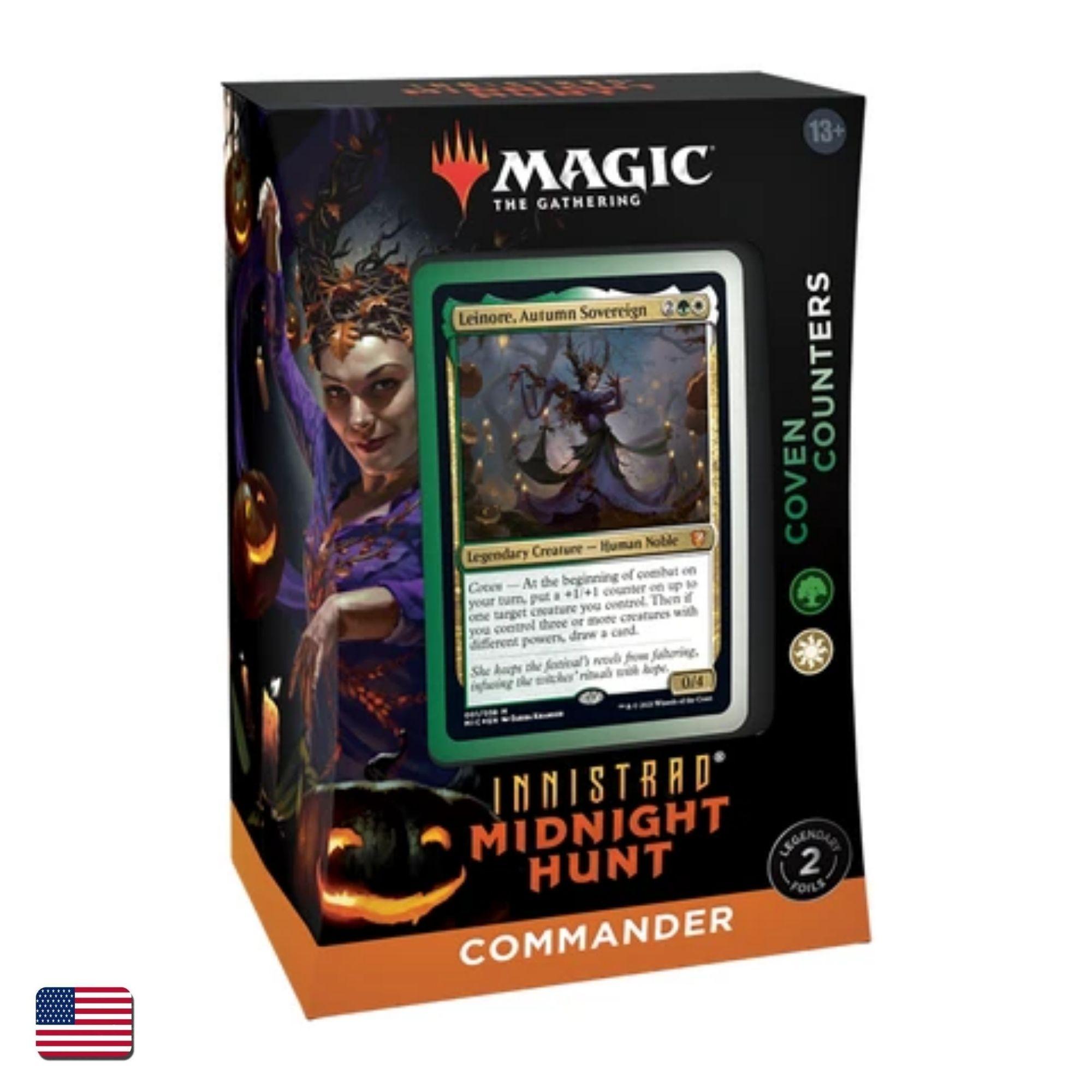 Innistrad: Caçada à Meia Noite Commander Coven Counters (Inglês)