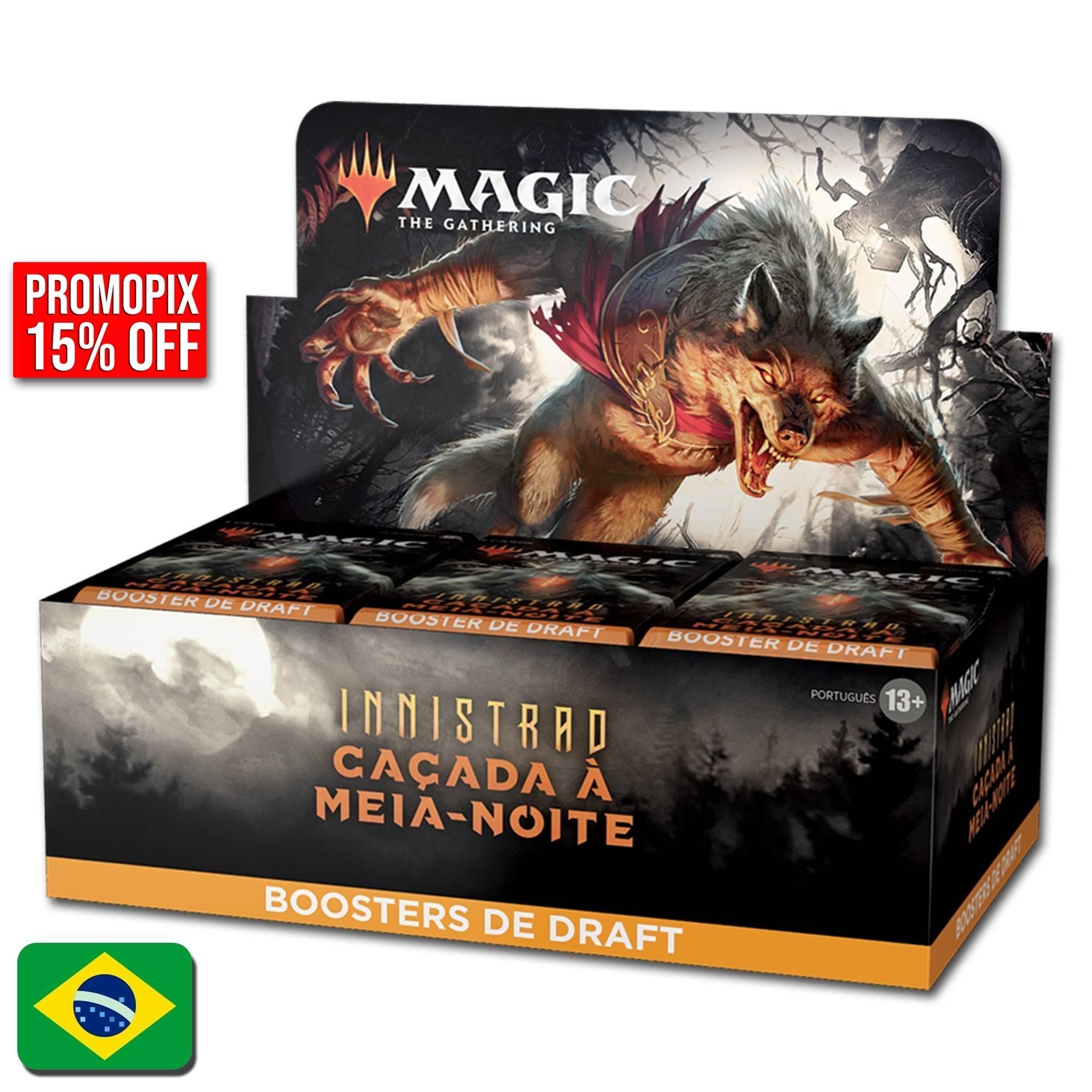 Innistrad: Caçada à Meia Noite Draft Booster Box (Português) (Pré Venda)