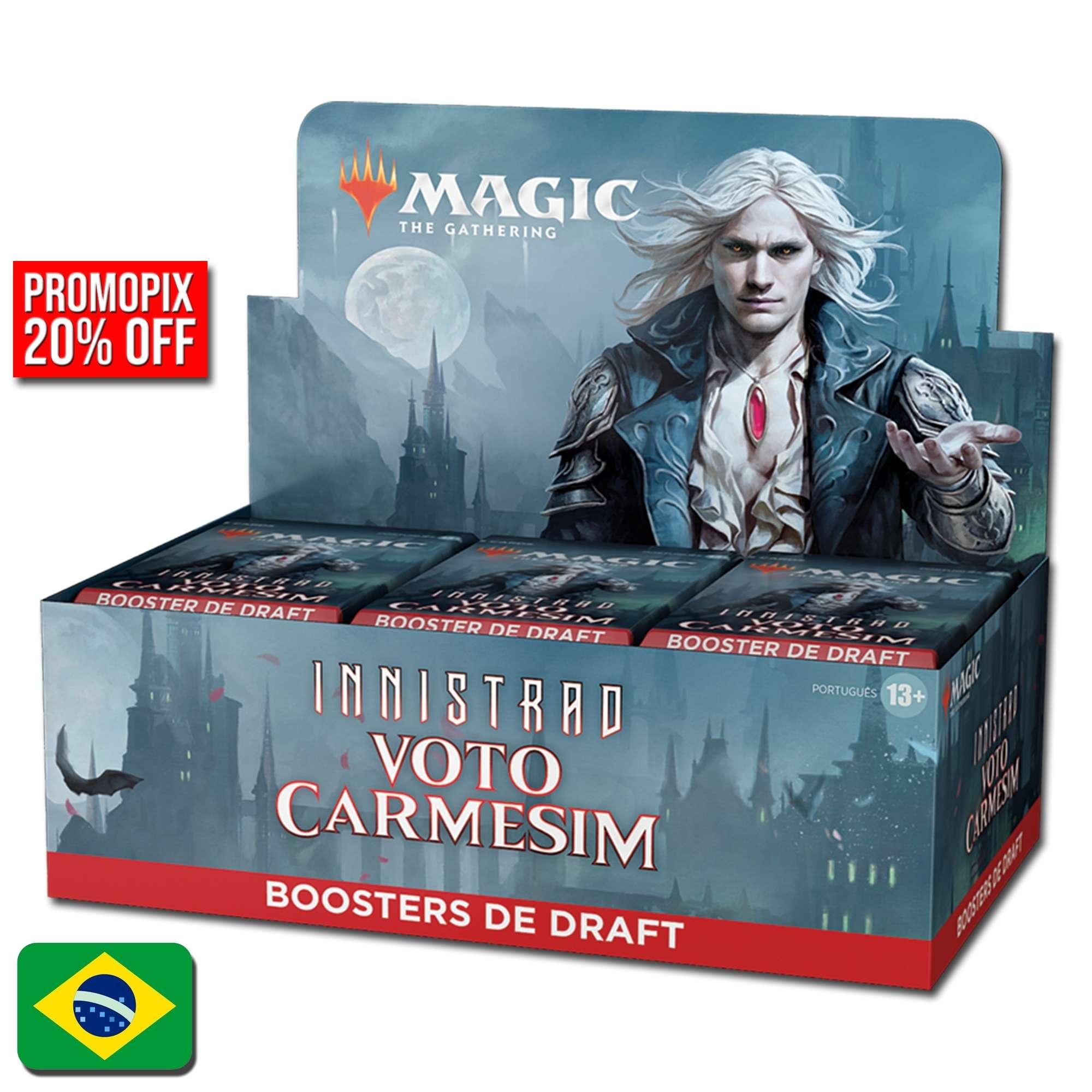 Innistrad: Voto Carmesim Draft Booster Box (Português)