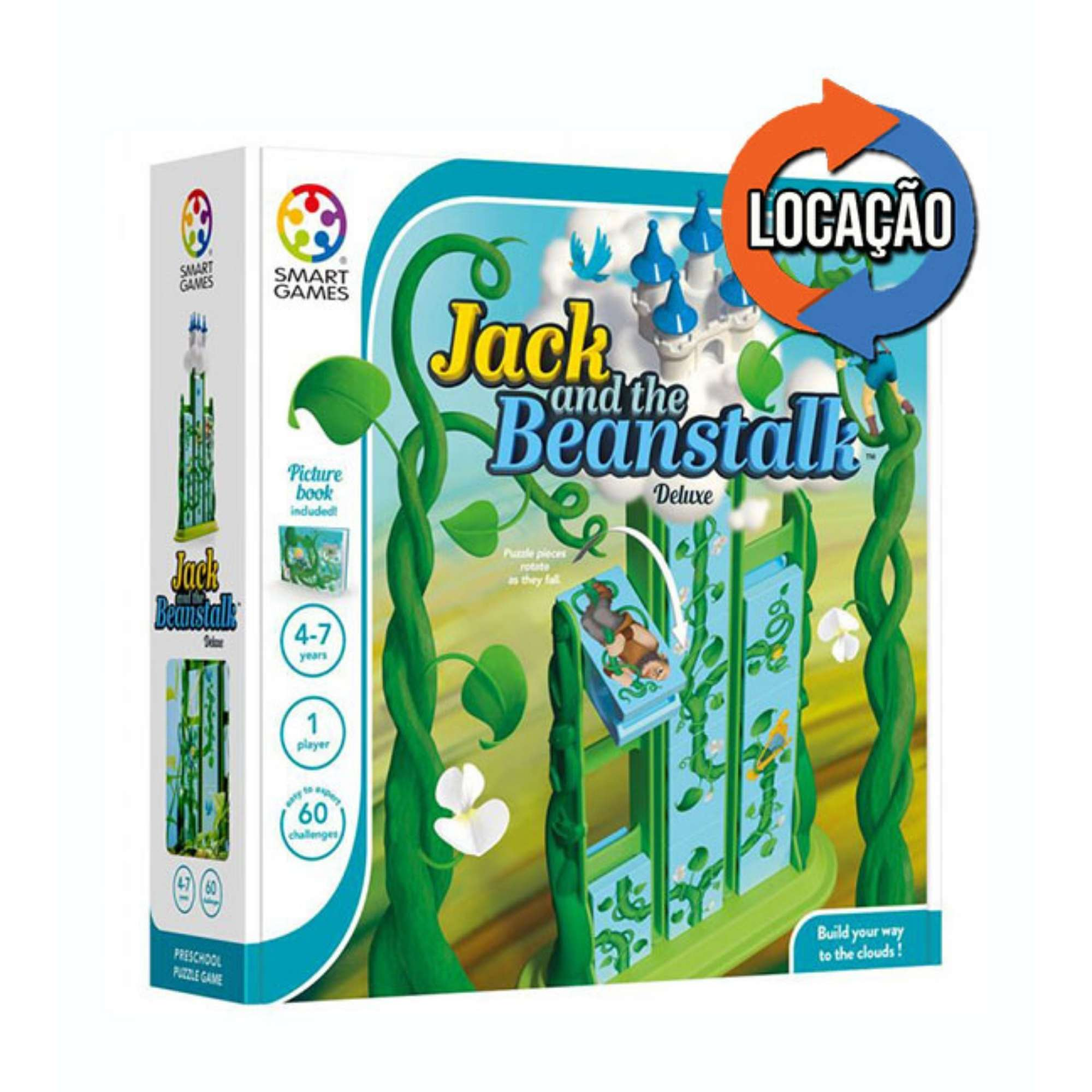 Jack and The Beanstalk Deluxe - SmartGames (Locação)