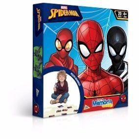 Jogo da Memória Grandão - Homem Aranha - 40 peças - Jak