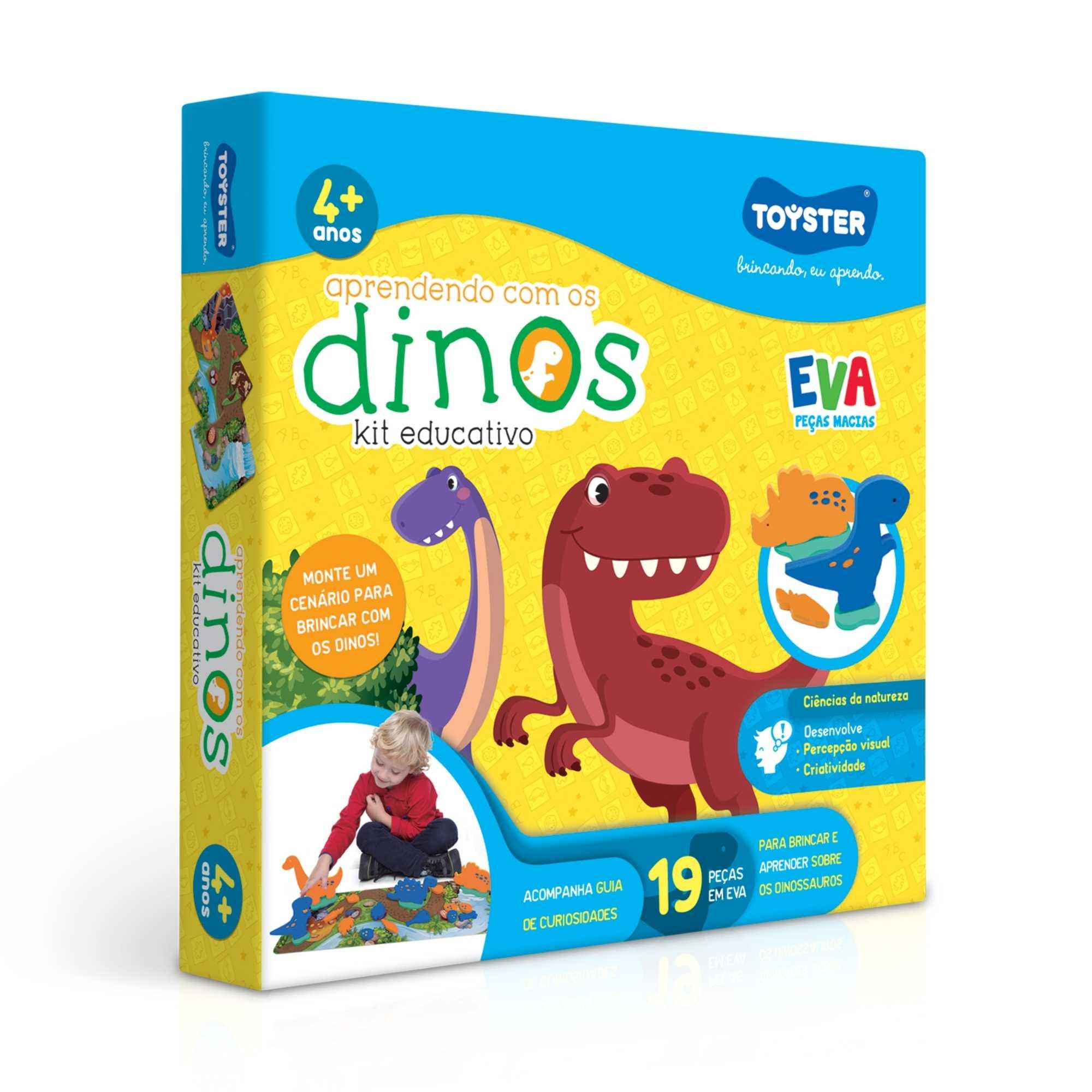Jogo Educativo Aprendendo com os Dinos EVA