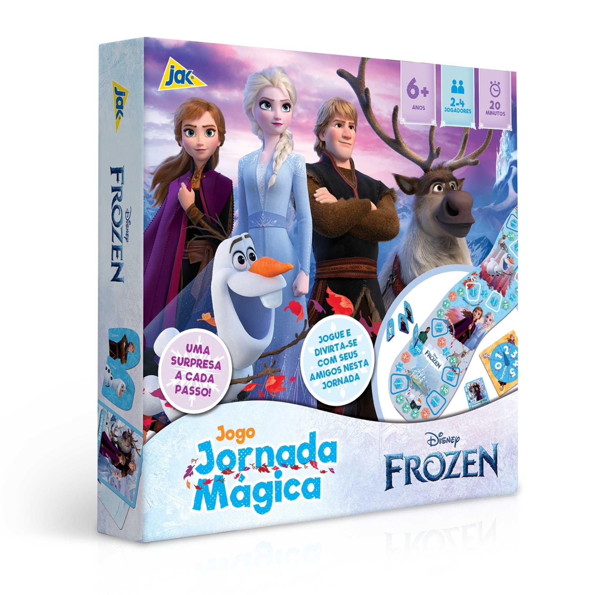 Jogo Jornada Mágica Frozen 2 - Jak