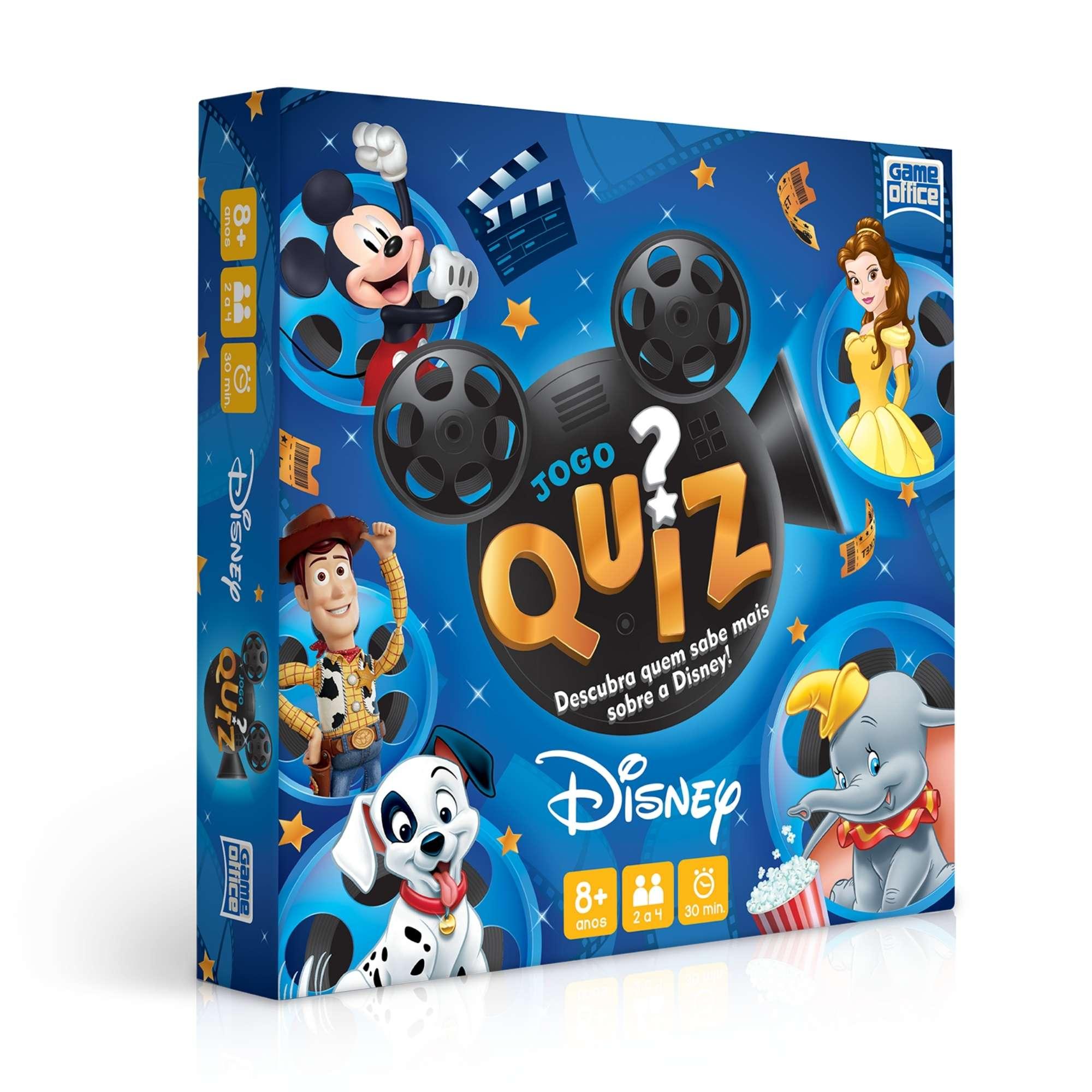 Jogo Quiz Disney