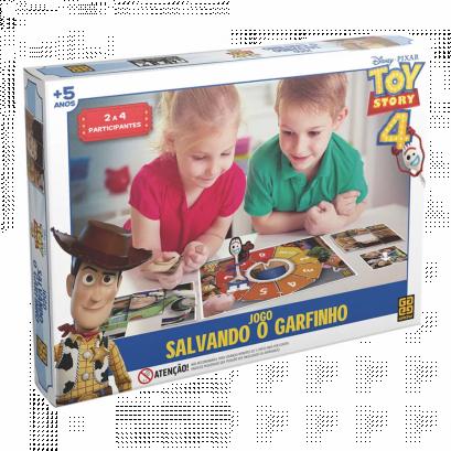 Jogo Salvando o Garfinho Toy Story