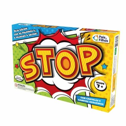 Jogo Stop - Super Jogos - Pais & Filhos