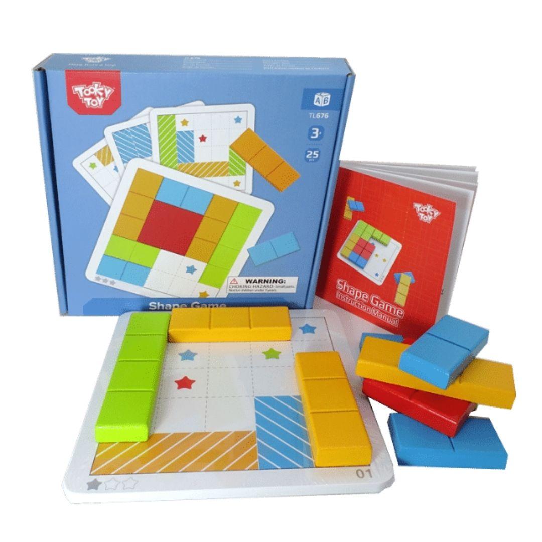 Jogo Tetris (Shape Game) - Tooky Toy