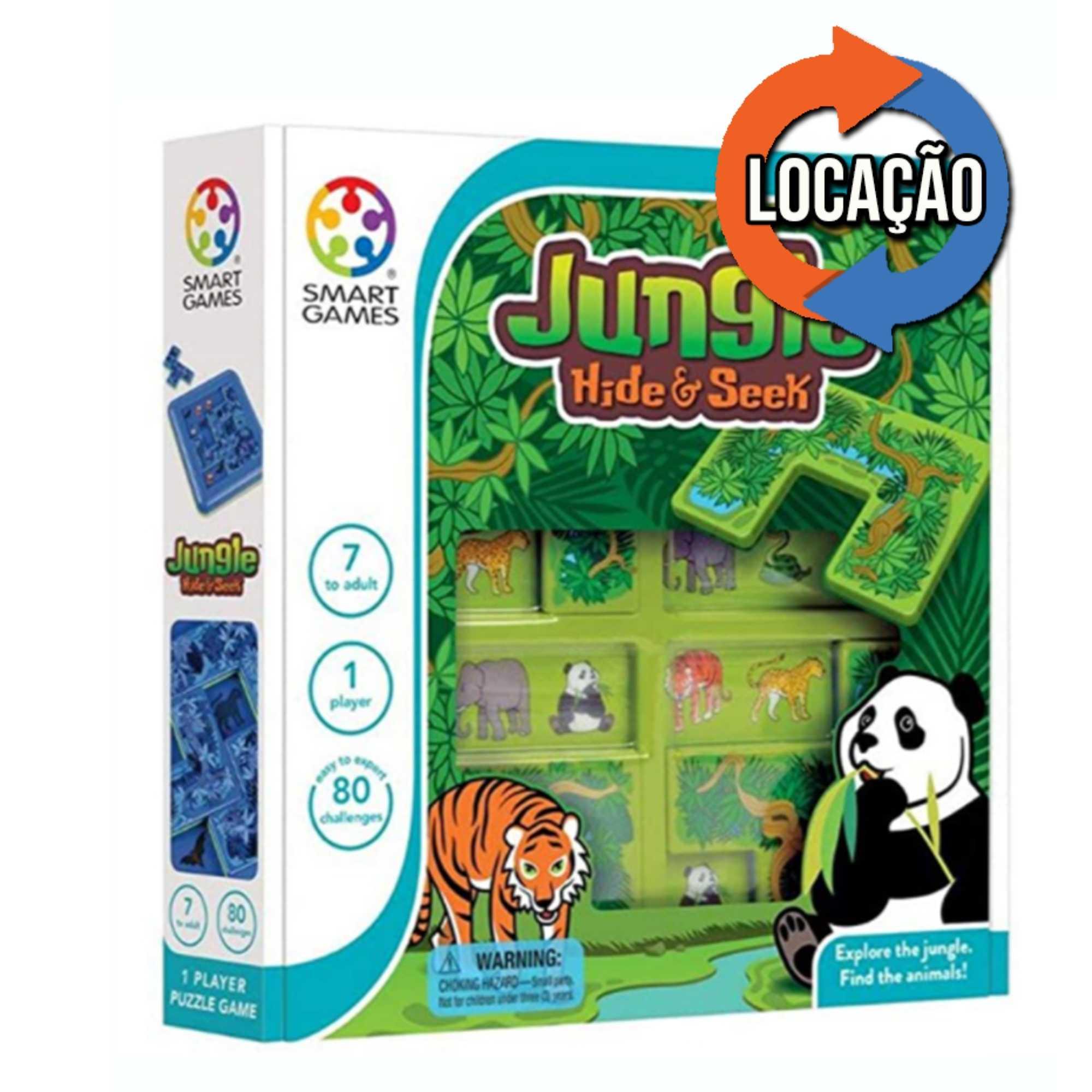Jungle Hide & Seek - Smartgames (Locação)