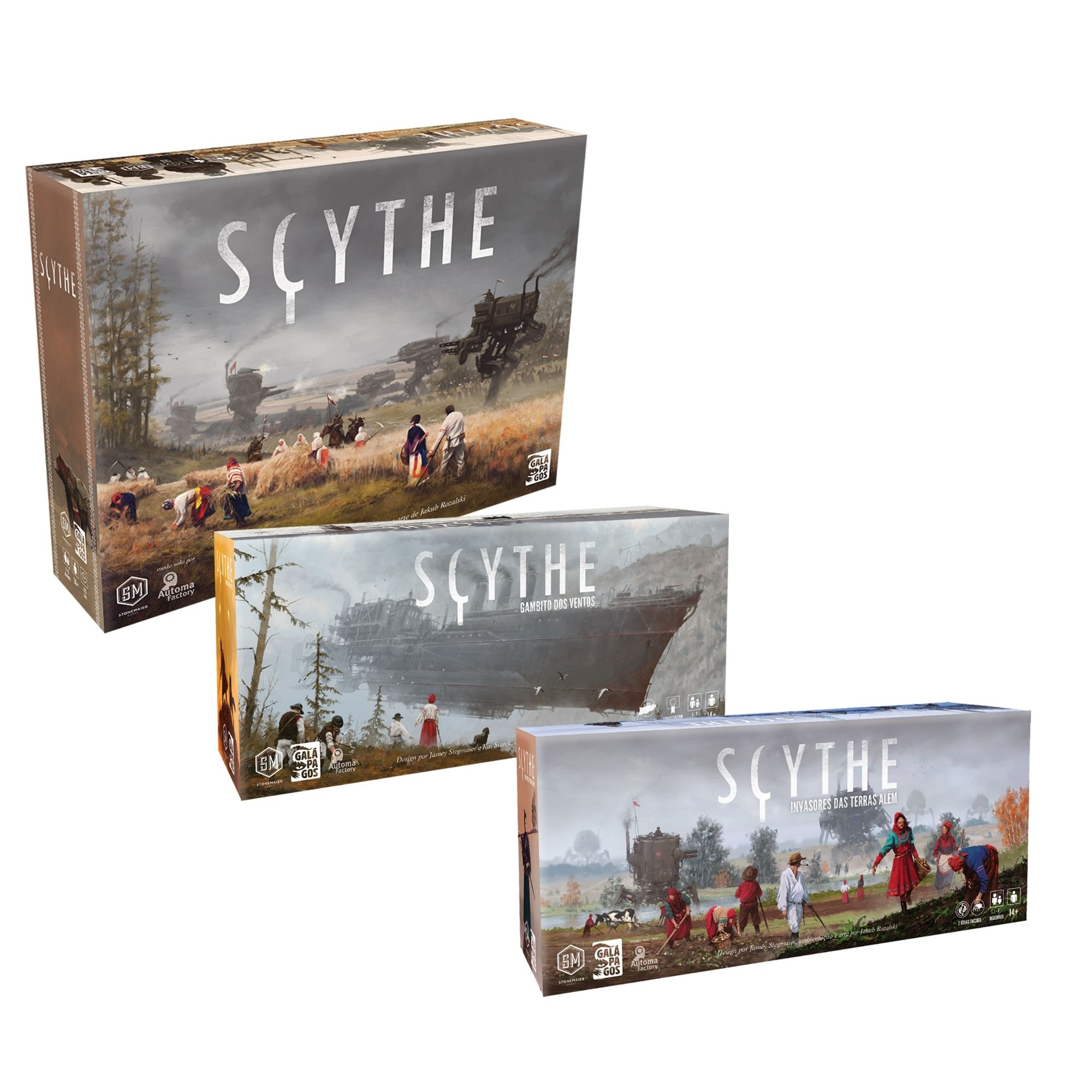 Kit Scythe + 2 Expansões