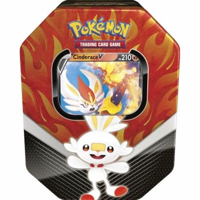 Lata Pokémon V - Parceiros de Galar - Cinderace