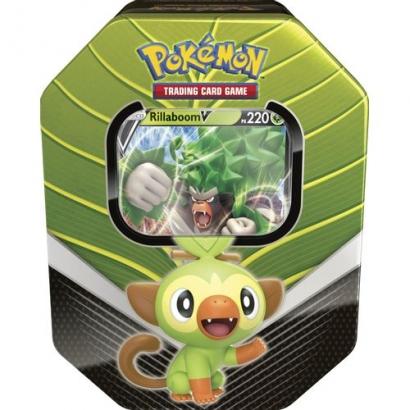 Lata Pokémon V - Parceiros de Galar - Rillaboom