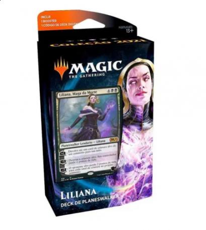 Liliana, Maga da Morte - Deck de Planeswalker - Magic 2021