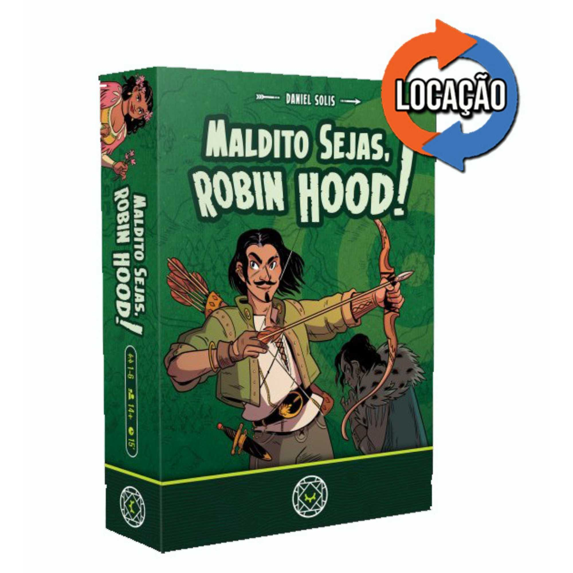 Maldito Sejas, Robin Hood! (Locação)