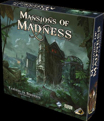 Mansions of Madness: Caminho da Serpente - Expansão