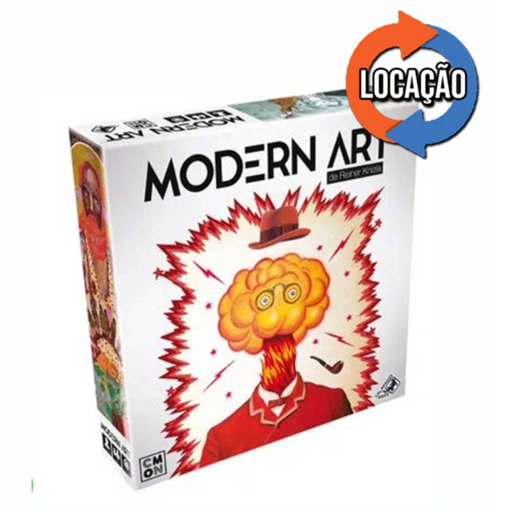 Modern Art Boardgame (Locação)