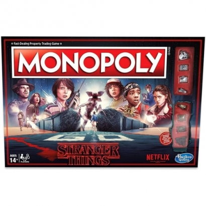 Monopoly Stranger Things (Inglês)