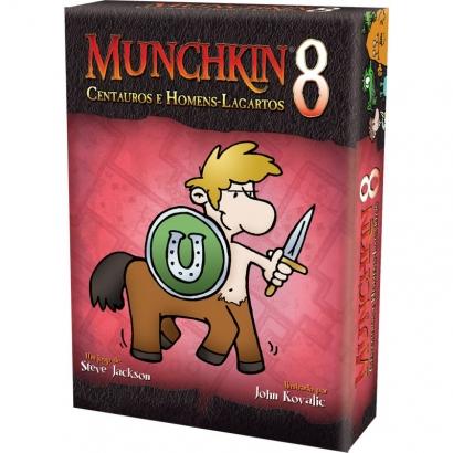 Munchkin 8 - Centauros e Homens - Lagartos
