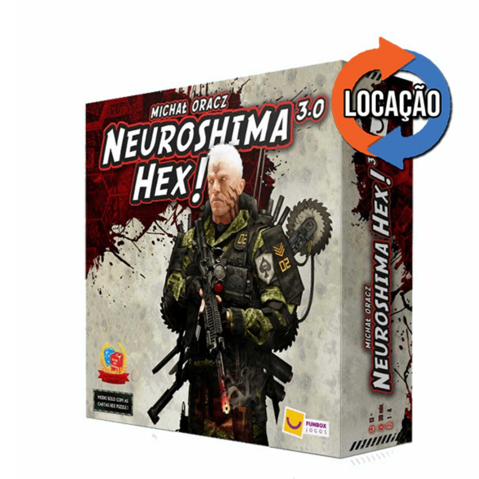 Neuroshima Hex 3.0 (Locação)