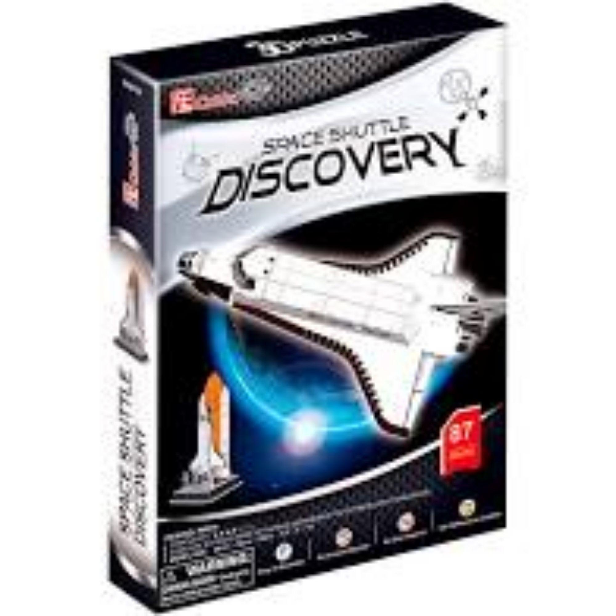Quebra-cabeça 3D - Ônibus Espacial Discovery - 87 peças - CubicFun