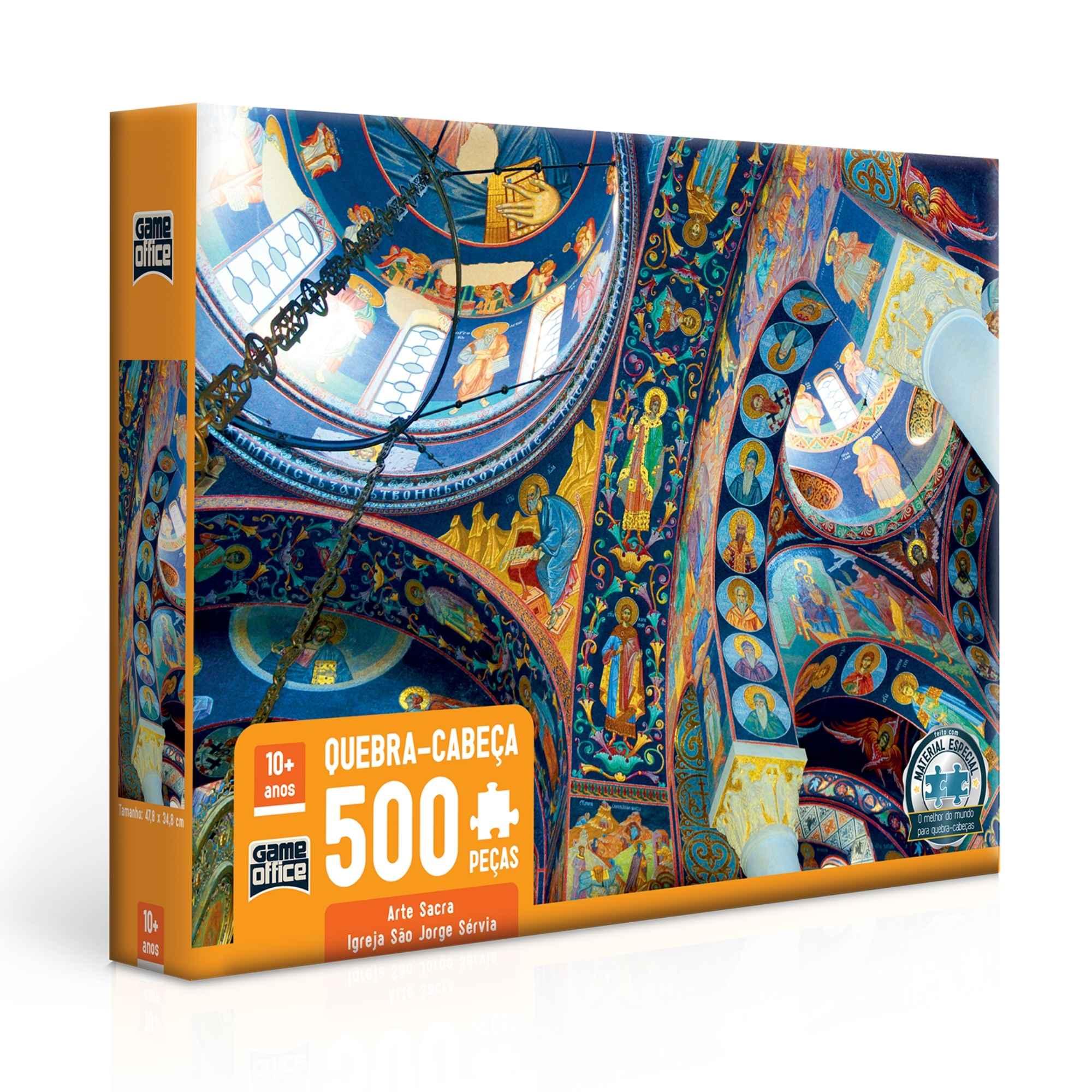 Quebra-Cabeça Arte Sacra 500 Peças