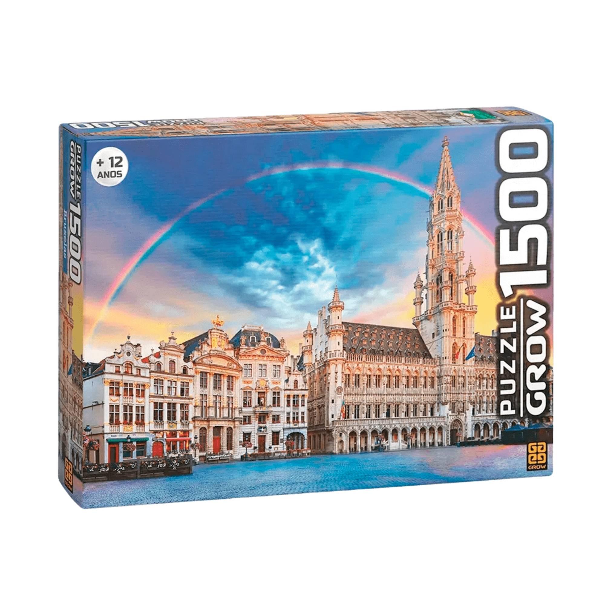 Quebra-cabeça Bruxelas 1500 peças - Grow