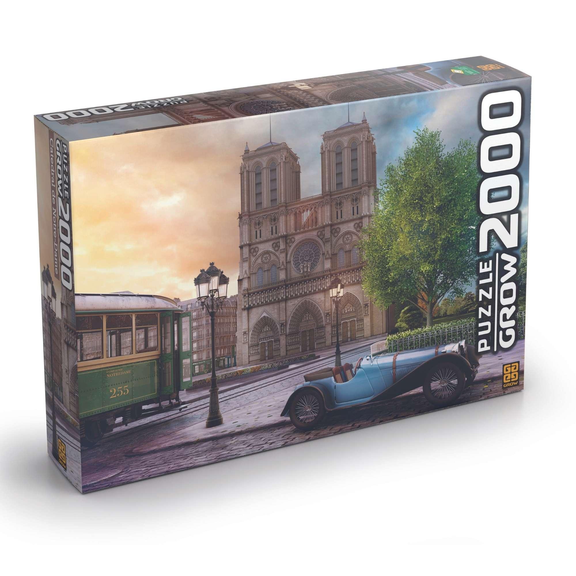 Quebra - Cabeça - Catedral de Notre-dame - 2000 peças
