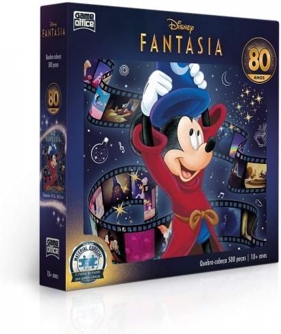 Quebra-Cabeça Disney Fantasia Edição Especial 500 Peças - Game Office