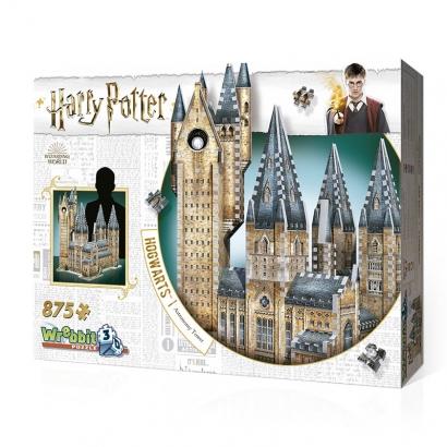 Quebra-cabeça Harry Potter Torre de Astronomia Hogwarts 3D - Galápagos Jogos