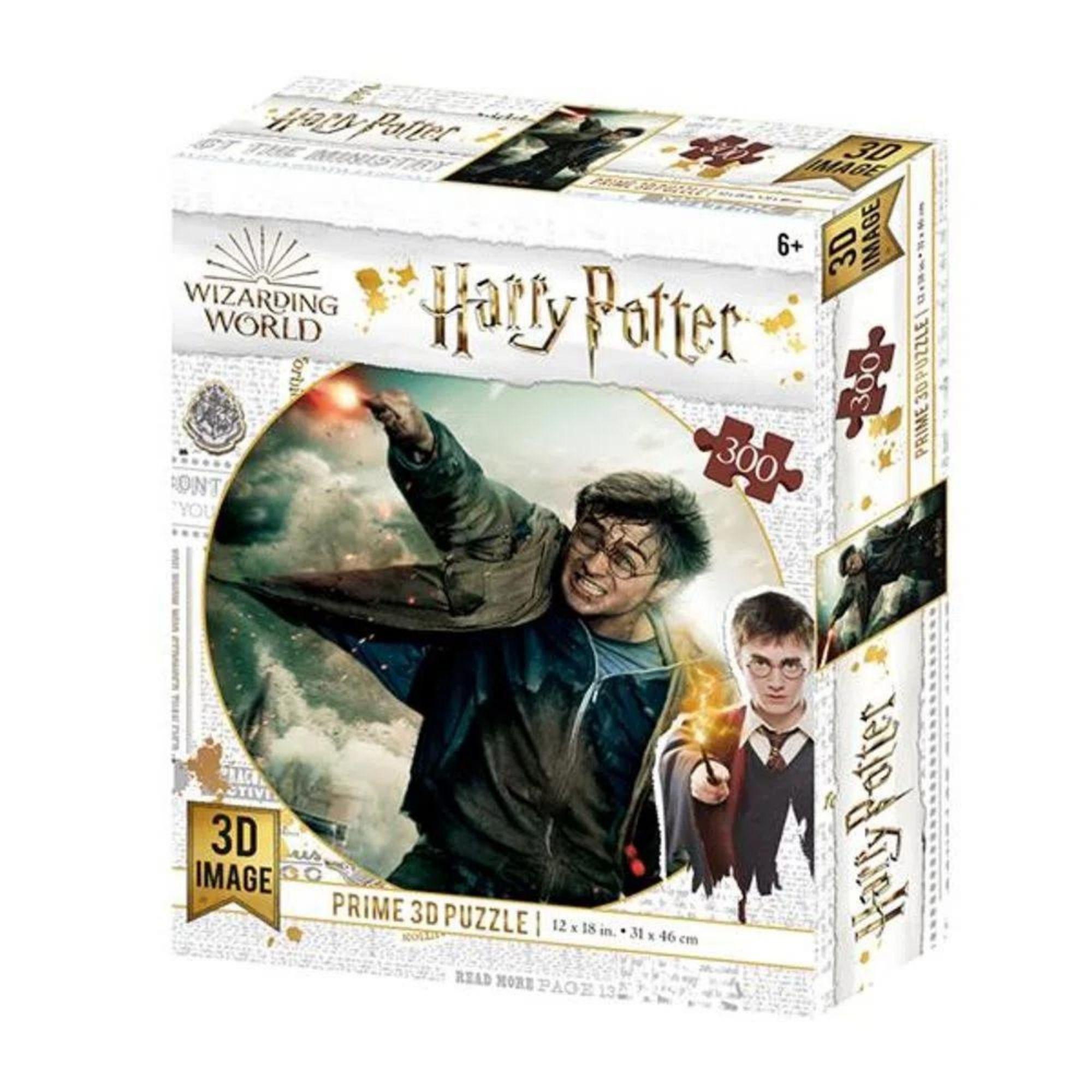 Quebra-cabeça Holográfico Harry Potter 300 Peças