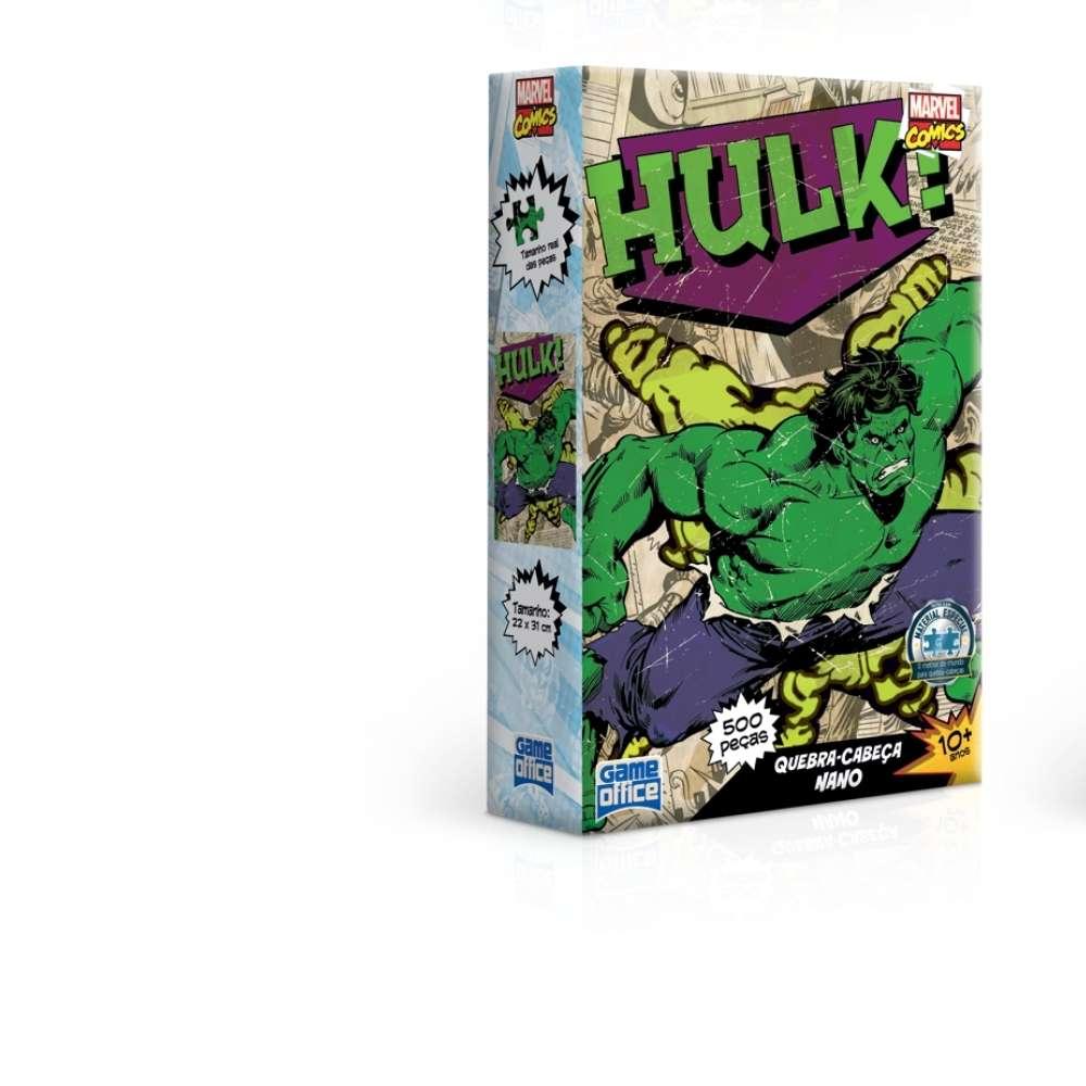 Quebra-Cabeça Hulk - 500 peças nano - Game Office
