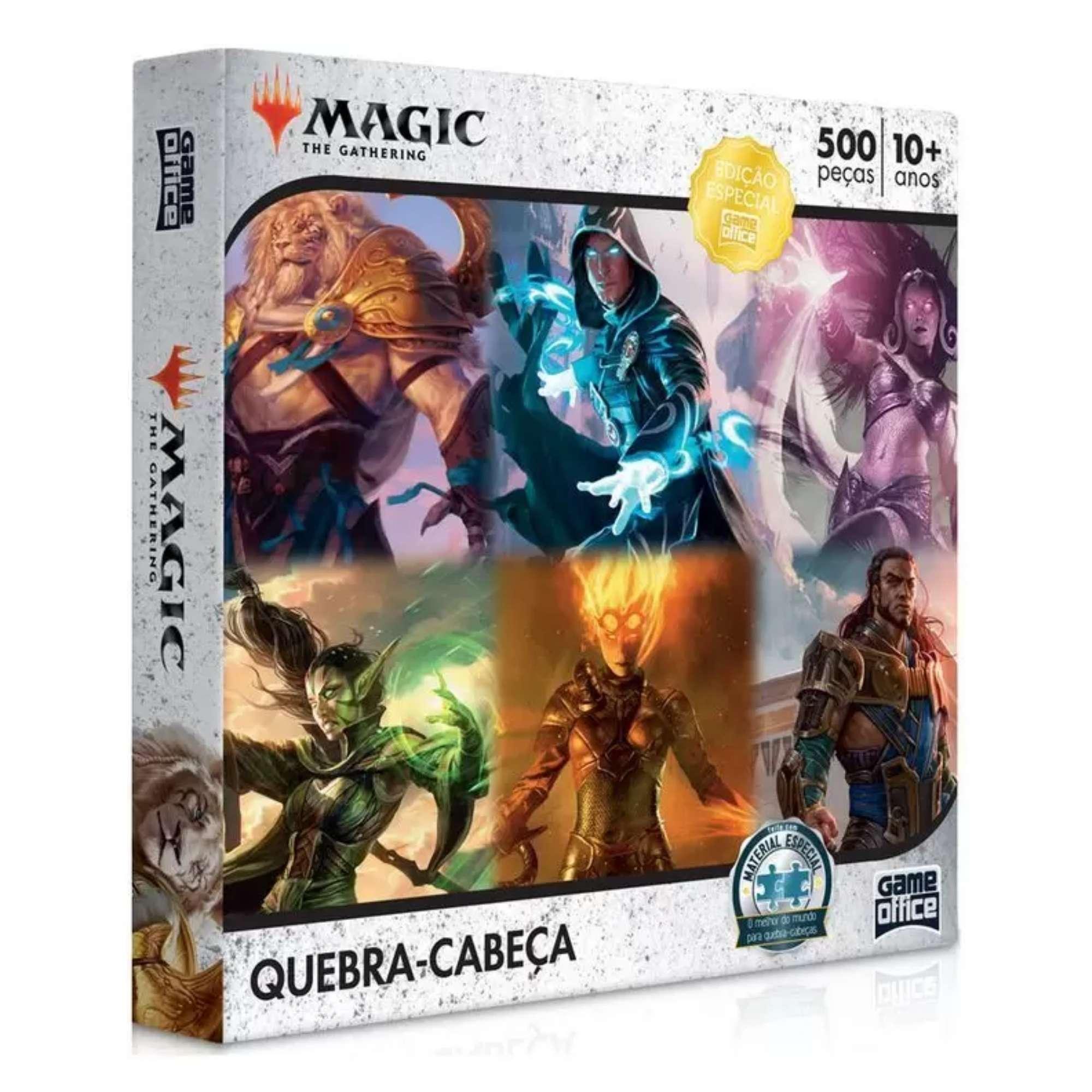 Quebra-Cabeça Magic: the Gathering - 500 peças - Game Office