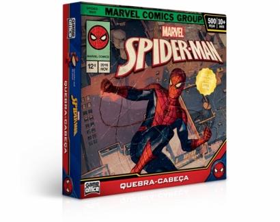 Quebra-Cabeça Marvel Homem Aranha 500 peças - Game Office