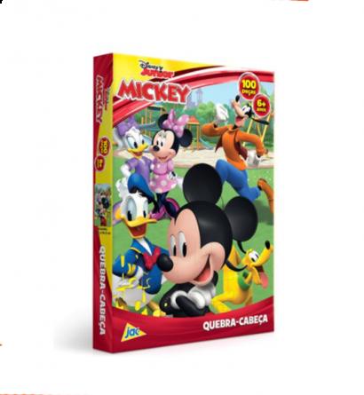Quebra-Cabeça Mickey - 100 peças - Jak