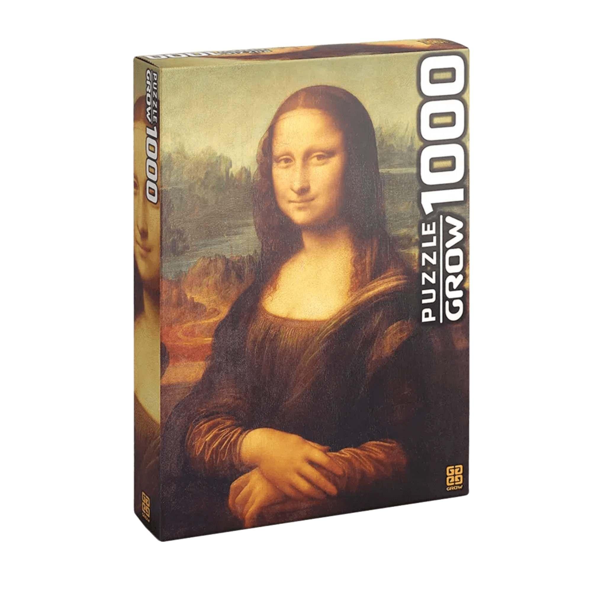 Quebra-Cabeça Monalisa 1000 Peças