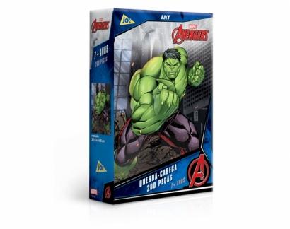 Quebra-Cabeça Os Vingadores Hulk 200 peças - Jak
