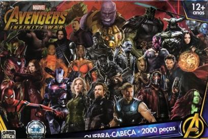 Quebra-Cabeça Os Vingadores Infinity War 2000 peças