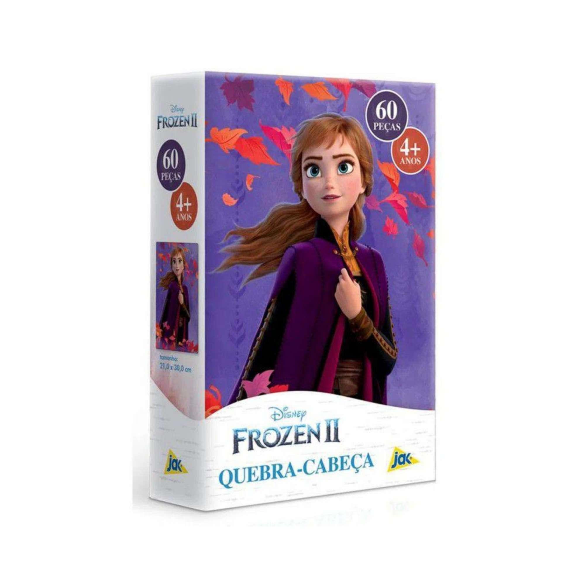 Quebra-Cabeça Princesa Ana Frozen 60 peças - Jak