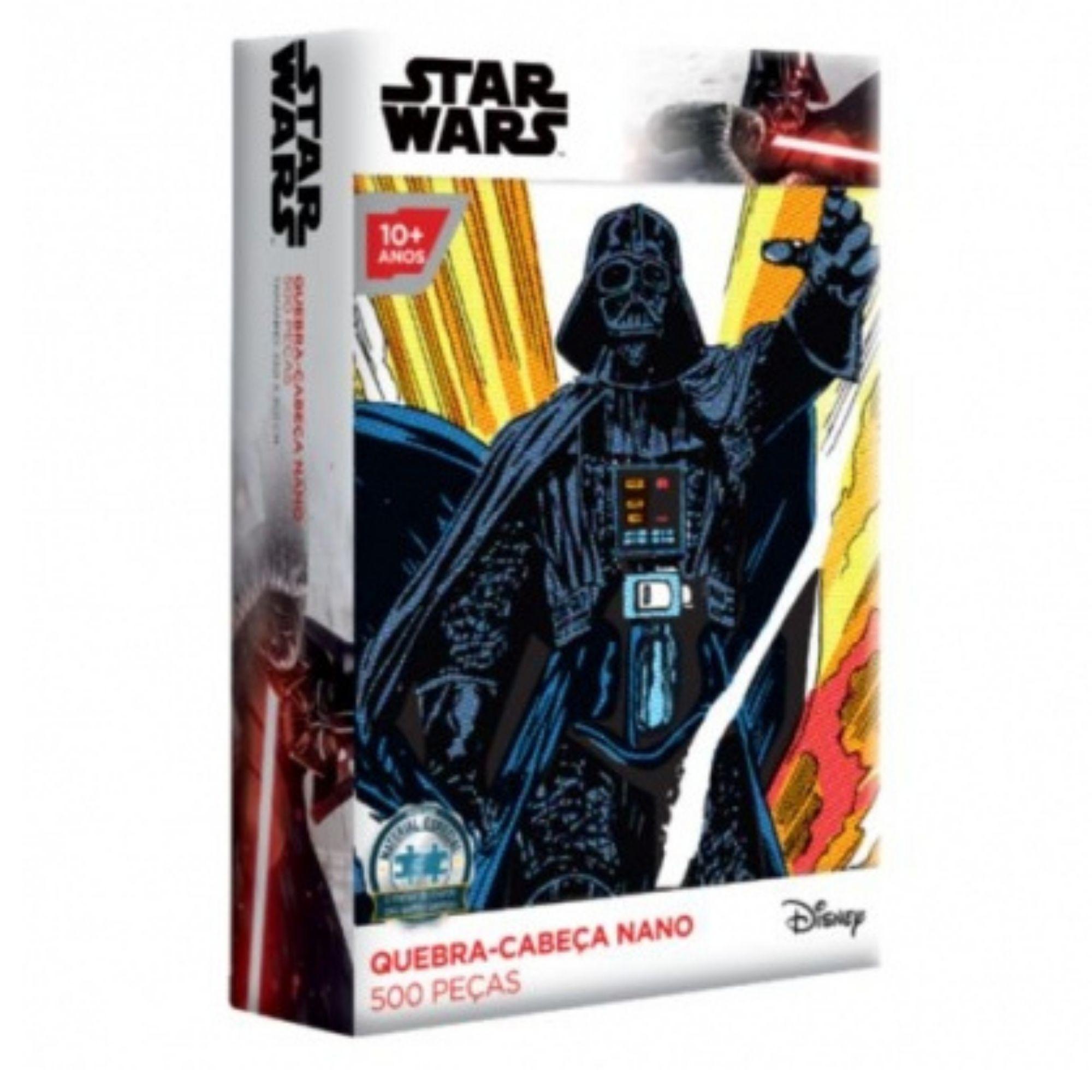 Quebra-Cabeça Star Wars Darth Vader - 500 peças nano - Game Office