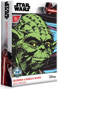 Quebra-Cabeça Star Wars Yoda - 500 peças nano - Game Office