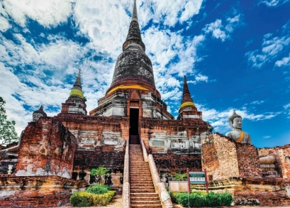 Quebra-cabeça Templo Tailandês - 2000 peças - Grow