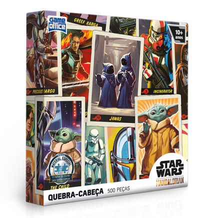 Quebra-cabeça The Mandalorian Edição Especial 500 peças - Game Office